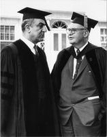 Dr. Charles Malik and President Baxter, Commencement 1959
