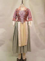 A Tale of Mystery corset/jacket and skirt