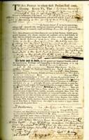 Number 03: Deed from February 8, 1745