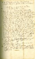 Number 06: Holograph concerning intoxication from August 2, 1748