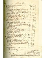 Number 07: Invoice and Memorandum from August 1748