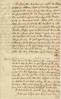 Number 09: Report regarding a grist mill at Fort Massachusetts from February 1750