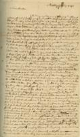 Number 13: Letter from Abigail Sergeant on June 18, 1751