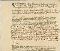 Number 42: Deed from April 25, 1755