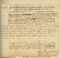 Number 54: Legal Documents to the Sheriff of Berkshire County from August 6, 1766 and February 29, 1783