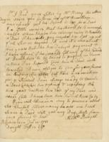 Number 59: Letter from Nathanial Dwight on December 14, 1781
