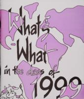 What's What In the Class of 1999