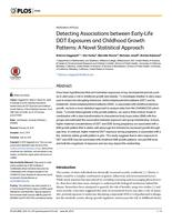 Detecting Associations between Early-Life DDT Exposures and Childhood Growth Patterns: A Novel Statistical Approach