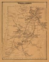 Beers: map of Williamstown, 1876