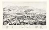 L.R. Burleigh: map of Williamstown, 1889