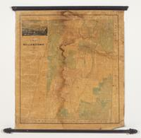 A Map of Williamstown from Original Surveys by J.H Coffin, 1843