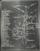 Photostat of a sketch map of Williamstown, 1889-1893