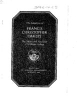 Induction Address of President Francis Christopher Oakley