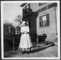 Marie Kiley in Front of House