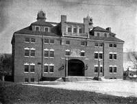 Jesup Hall: Front Exterior from the West, 1901