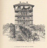 """S.G.W. Benjamin: """"A Pavilion of the Shah at Enzeli"""", 1886"""