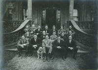 Sigma Phi Fraternity: Group Photo, 1909