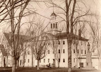 Griffin Hall: Exterior from the Southeast, ca. 1870