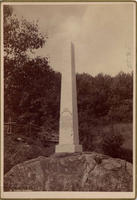 The Ephraim Williams monument, ca. 1890