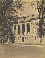 Stetson Library: View from the Southwest, 1922