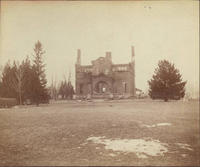 Sigma Phi Fraternity: 1884-1893 House - Ruins from the Fire, 1893