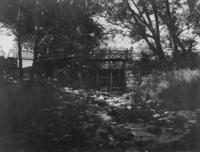 Rustic bridge, 1897