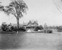 Professor Clarke's house 1897