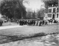 Hopkins Hall Commencement, 1897