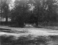 Entrance to Mission Park, circa. 1897