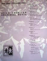Asian American Awareness Month 2001