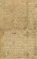 Abigail Dwight letter on the death of Ephraim Williams and the Battle of Lake George