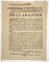 British Reply to the Declaration of Independence