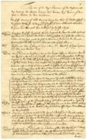 The Case of his Majesty's Province of the Massachusetts Bay