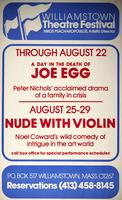 A Day in the Death of Joe Egg and Nude With Violin